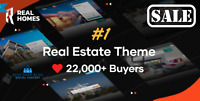 Real Homes Theme – WordPress Real Estate Theme – Full Package