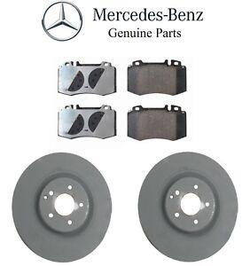 For Mercedes C209 CLK500 2003-2006 GENUINE Front Brake KIT w/ Rotors+Pad Set