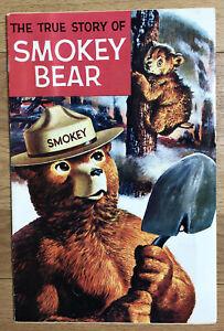 November 1989 Reprint Of 1969 Western Publishing True Story Of Smokey Bear Comic