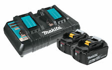 Makita BL1850B2DC2X 18V Lithium-Ion Battery and Dual Port Charger