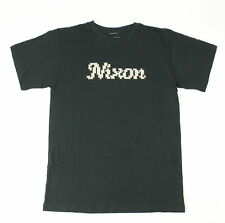 Nixon Mens West Short Sleeve T-Shirt Black M New
