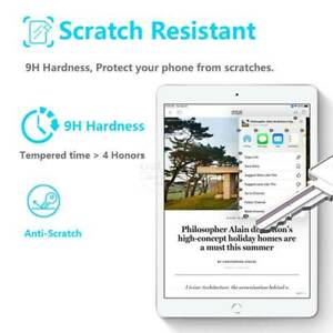 Tough Screen Protector Tempered Glass Flim For iPad 10.2 in 2021 9th 8th 7th Gen