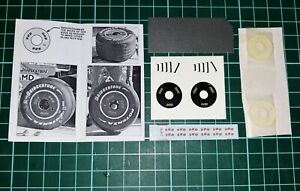 "NEW 1/18 ""BBS"" Wheel Covers for Ferrari F2007 or Similar Applications"