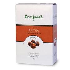 Banjara's Aritha Powder - Sapindus mukorossi Soap Nut Reetha (25 x 20gm = 500gm)