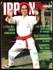 IPPON n°13 ¤ 1978 ¤ ARTS MARTIAUX/SPORTS COMBAT / SUMO TORI / BOXE FRANCAISE