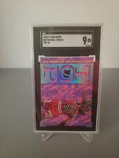1995-96 NBA Hoops MICHAEL JORDAN #AR7 TOP TEN (Chicago Bulls), SGC 9 Mint