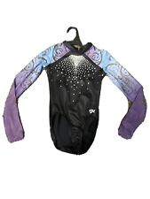 Gk Elite Long Sleeve Competition Leotard, Adult Xs