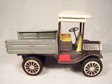 """6-7/16"""" Long - Tin Friction - Vintage Style Delivery Truck - Japan"""