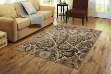 Indian Hand Tufted Wool Carpet Transitional Rug 5' X 8' Handmade Large Area Rugs