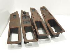 Audi A8 D2 Pack Walnut/Black Door Inserts