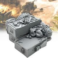 Model Original 1/35 Resin Platform Mit Segel Unlackiert Unmontiert