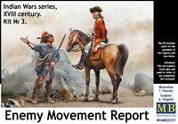 Enemy Movement Report. Indian Wars Series, XVIII century  1/35 MasterBox 35217