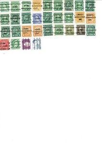 Canada Precancels (31 stamps)