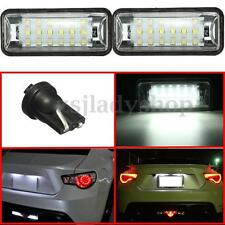 LED License Plate Light Lamp For Subaru BRZ Legacy WRX STI Impreza XV Crosstrek