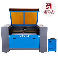 Omtech 100w 24x40 In Co2 Laser Engraver Cutter Etcher W Cw5202 Water Chiller