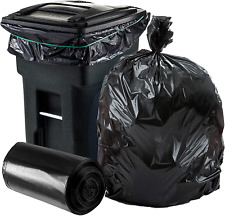 Trash Can Liners Large Garbage Bags Heavy Duty For Toter Outdoor Bin 64-65 Gal