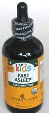 Kids Fast Asleep Herb Pharm 4 oz Liquid