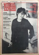 PAULINE MURRAY - PENETRATION - CLASSIC NME COVER AND INTERVIEW - 11/11/1978