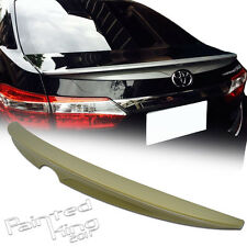 Unpainted FOR TOYOTA ALTIS Corolla Sedan Rear Trunk Spoiler Wing ABS