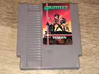 Gauntlet Gray Cart Nintendo Nes Cleaned & Tested Authentic