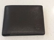 Timberland Brown Leather Men`s Wallet with coin pocket