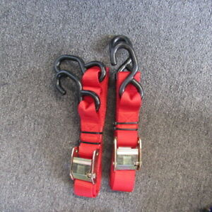 SLASHER EXTREME DUTY TIE DOWN COLOR RED