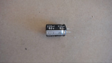 Nichicon 220Uf 63V 105C Trimmed Leads Capacitor New Lot Quantity-25