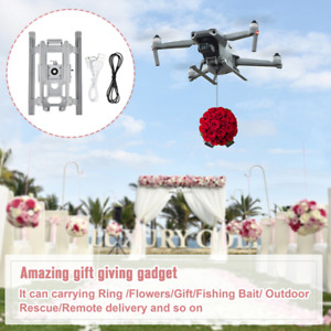 Airdrop System Remote Thrower Kit With Landing Gear For DJI Mavic Air 2/2S Drone