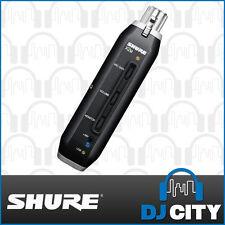 X2U Shure XLR to USB Converter Record any Dynamic Microphone into PC or MAC