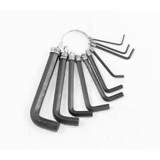 New 10Pc Hex Key Set Assorted Allen Keys L Shape Alen Alan Hexagon 1.5 - 10mm