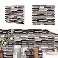 Mosaic Kitchen Bathroom Tile Stickers Mosaic Sticker Self-adhesive Wall Decor