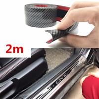 200x10cm Einstiegsleisten KFZ Autotür Schwellerleiste Zier Türschutz Universal