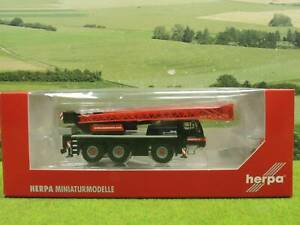 Herpa H0 Liebherr LTM 1045/1 Mobilkran mit OVP TOP (BF) R1332