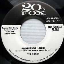 LOCOS doowop repro 45 PROFESSOR LOCO OH YES INDEED I DO mint minus cond. bb3387