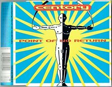 """CENTORY - 5"""" CD - Point Of No Return (4 Mixes)"""