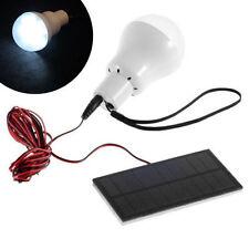 Portable Solar Power LED Bulb Lamp Outdoor Lighting Camp Tent Fishing Lamp