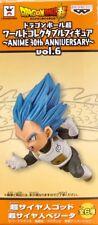 Dragon Ball WCF World Collectible Figure 30th Vol 6 Vegeta Super Saiyan God Blue