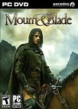 Mount & Blade (PC, 2008) video game rated teen