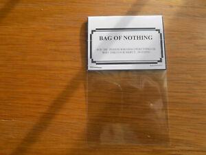 Bag of nothing funny birthdays joke present. 18th 21st 30th 40th 50th 60th