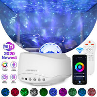 LED Starry Sky Projector Light WIFI Remote Smart Star Night Lamp Music Player