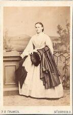 P.S. Cramer CDV photo Feine Dame - Nürnberg um 1870