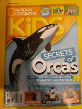 National geographic kids,secrets of Orcas why these sea mammals might be smarter