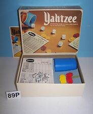 "1978 Milton Bradley E.S. Lowe Yahtzee Luck & Strategy Dice Game ""Great Shakes"""