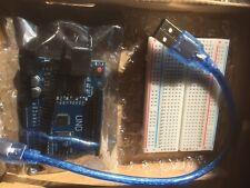 Arduino Uno - Compatible Board R3 Rev3 ATMEGA328P -FREE USB CABLE AND BREADBOARD