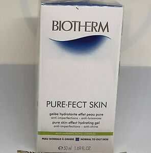 BIOTHERM PURE-FECT PURE SKIN EFFECT HYDRATING GEL NORMAL-OILY SKIN NIB