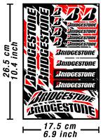 Bridgestone Tires Decals Stickers Vinyl Graphics Aufkleber Adesivi /622