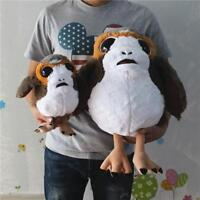 Star Wars The Last Jedi Huge Deformed Soft Plush Porg Bird Toy Stuffed Doll Gift
