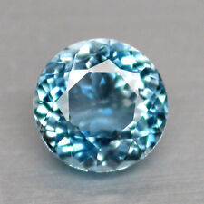 ROUND-FACET STRONG-BLUE LAB AQUAMARINE: SIZES AVAILABLE FROM 1mm - 15mm