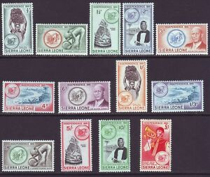 Sierra Leone 1961 SC 208-220 MH Set Independence