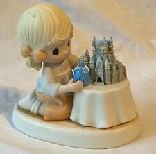 "New ListingPrecious Moments ""A World of My Own"" Disney Cinderella's Castle Figurine"